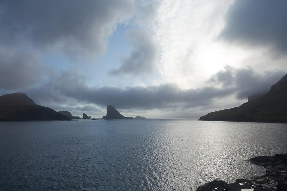 faroe islands Färöer Inseln Air BnB View Clouds Wolken