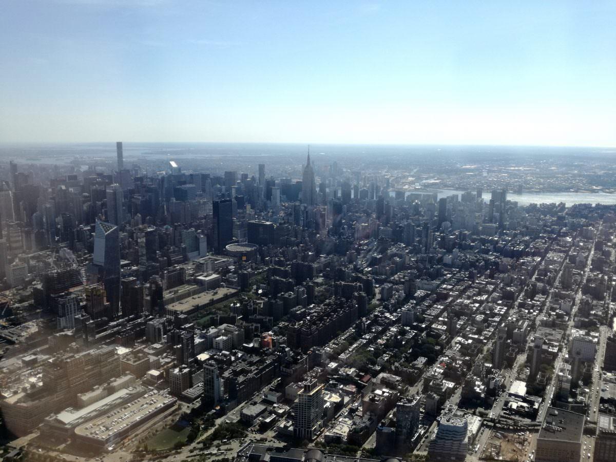 Manhattan Helikopter Flug