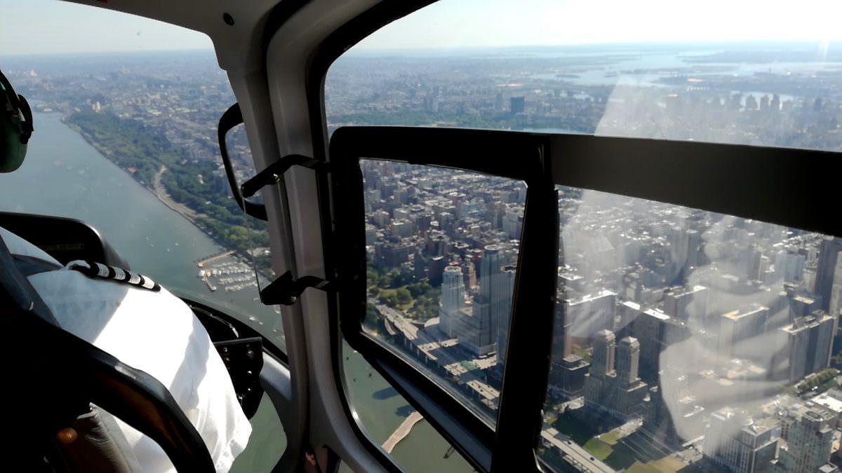 Manhatten Helikopter Flug