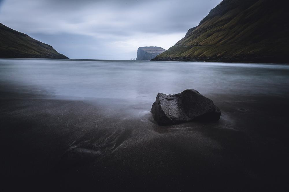 Tjørnuvík, Strand, Risin Kellingin, Fotospots auf den Färöer Inseln