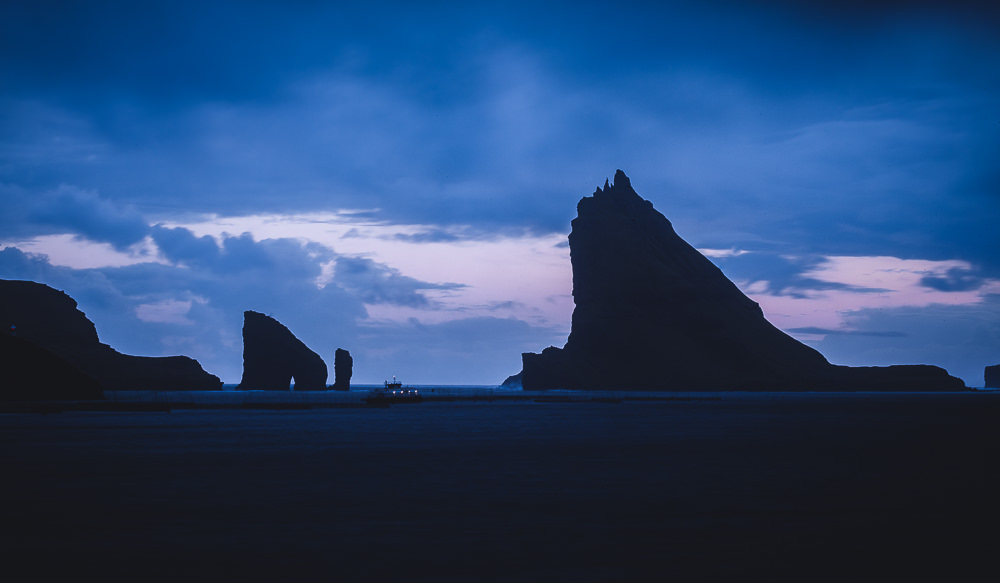 Färöer Inseln Vágar View