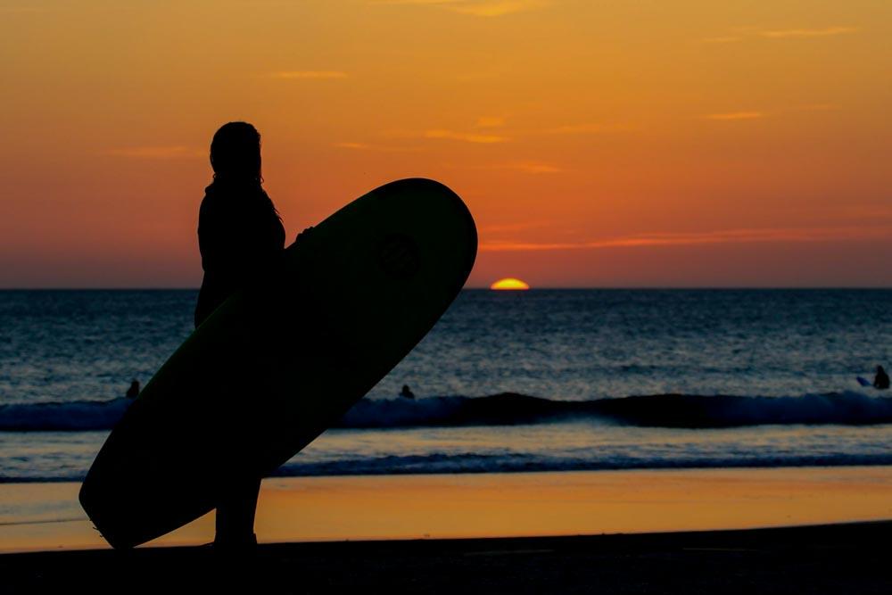 Surfen Spanien El Palmar