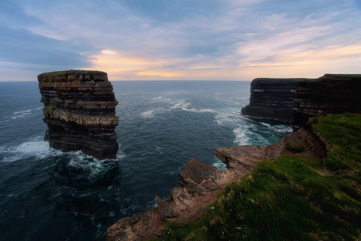 Dun Briste – The broken Fort, Downpatrick Head, Irland